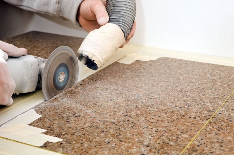 How to cut granite