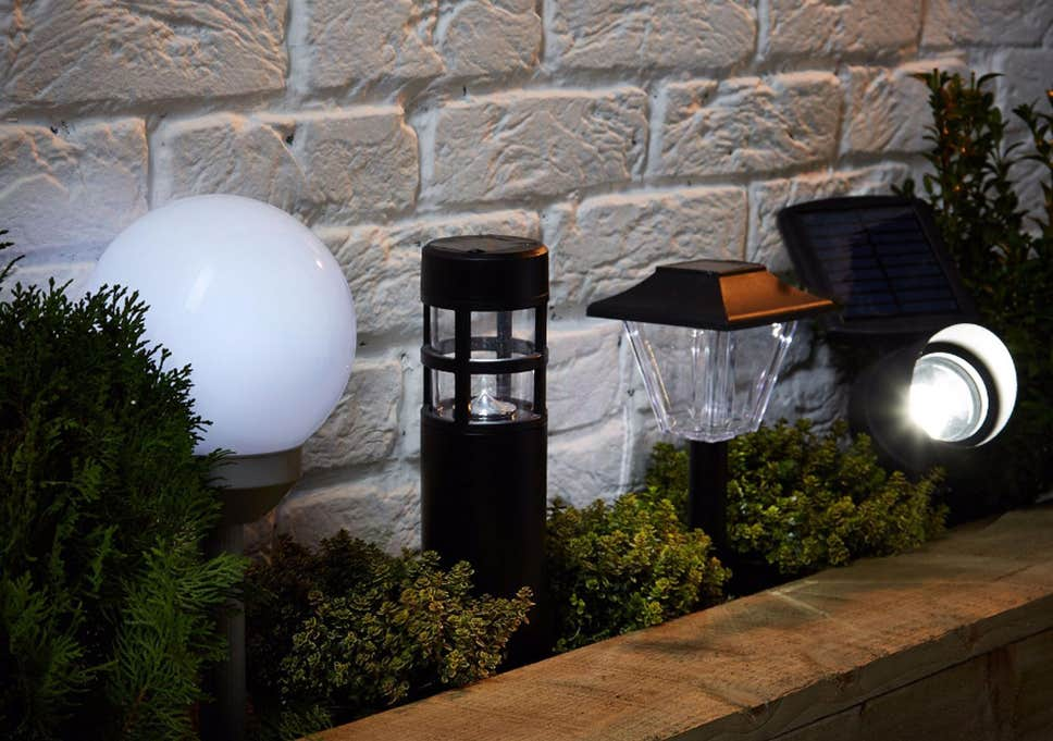 decorative garden lamp post