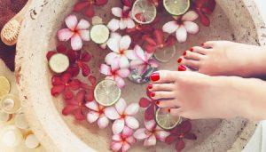 homemade foot spa