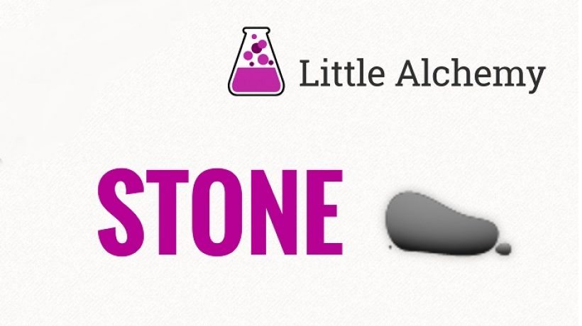 How to make stone in little alchemy?